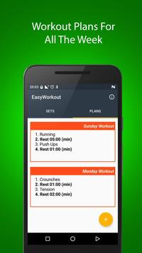 Easy Workout - Workout Timer apk screenshot
