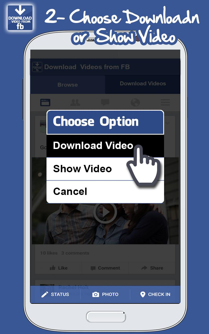 Fast Facebook Video Downloader for Android - APK Download