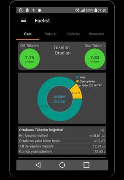 Fuel log & Cost Tracking app screenshot 9