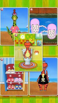 Dino Bath & Dress Up (FREE) poster