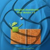 Volleyball Scoreboard Free icon