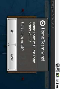 Volleyball Scoreboard Free screenshot 3