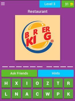Quiz Restaurant Logos screenshot 15