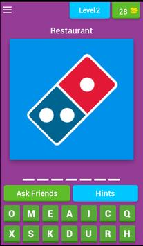 Quiz Restaurant Logos screenshot 2