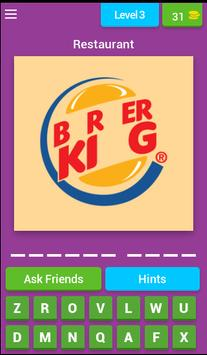 Quiz Restaurant Logos screenshot 3