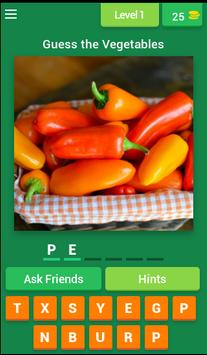 Vegetables Quiz 2017 poster