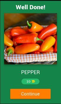 Vegetables Quiz 2017 screenshot 1