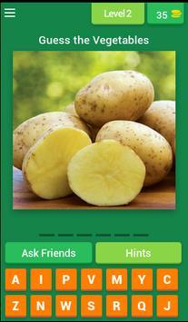 Vegetables Quiz 2017 screenshot 2