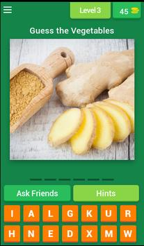 Vegetables Quiz 2017 screenshot 3
