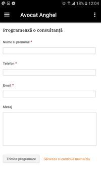 Avocat Anghel - Avocatul Familiei Tale apk screenshot