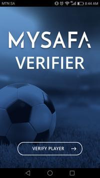 MySAFA Player Verifier apk screenshot