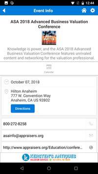 ASA Events screenshot 3