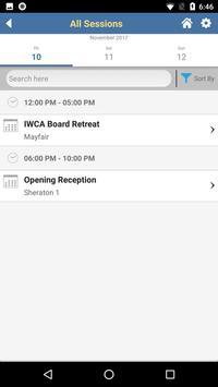IWCA 2017 screenshot 4