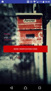 Avow poster