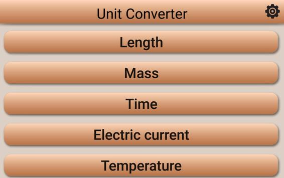 Unit Converter apk screenshot