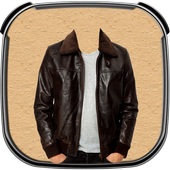 Man Fashion Jacket Photo Suit icon