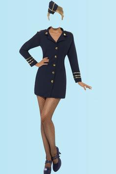 Air Hostess Photo Suit Editor apk screenshot