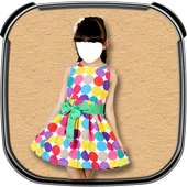 Baby Girl Fashion Photo Suit icon