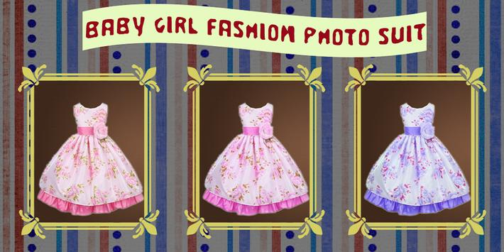 Baby Girl Fashion Photo Suit poster