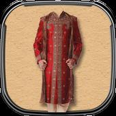 Indian Man Photo Suit icon
