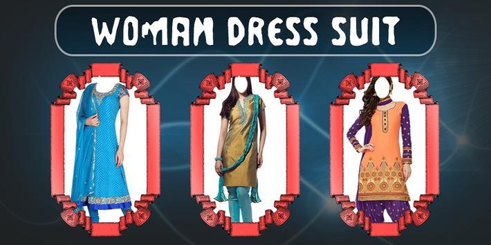 Indian Woman Dress Photo Suit poster