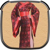 Kimono Photo Suit Maker icon