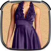 Lady Party Wear Photo Suit icon