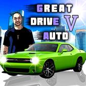 Great Drive Auto 5 Vice City icon