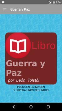 Guerra y Paz de León Tolstói poster