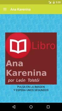 Ana Karenina de León Tolstói poster