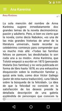 Ana Karenina de León Tolstói apk screenshot