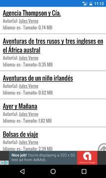 Libros Gratis en Castellano apk screenshot