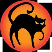 The Black Cat Edgar Allan Poe icon