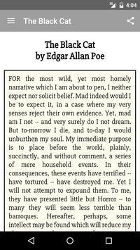 The Black Cat Edgar Allan Poe apk screenshot