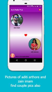 Aditi Rathore   Zain Imam    Avenil Romantic Pics screenshot 1