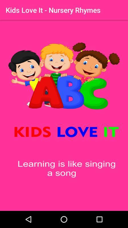 Kids Love It Nursery Rhymes Poems Stories Maths الملصق