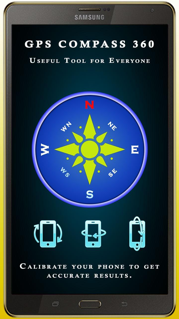 GPS Compass App for Android North Direction Finder for Android - APK