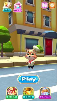 Talking Cat Subway Surf: Cute Jerry Pet Run screenshot 4