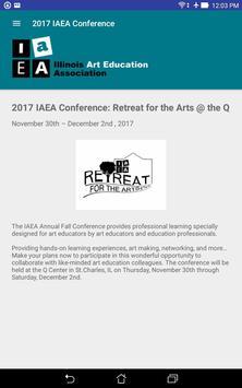 Retreat for the Arts screenshot 4