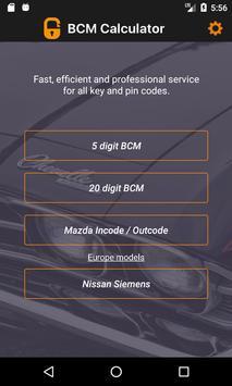 BCM Calculator screenshot 2
