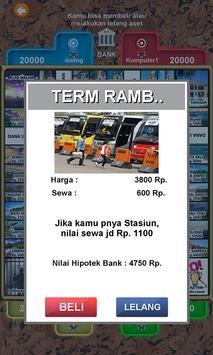 Monopoli Offline Indonesia screenshot 2