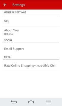 Online Shopping China screenshot 1