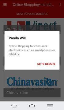 Online Shopping China screenshot 5