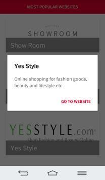 Online Shopping Korea apk screenshot