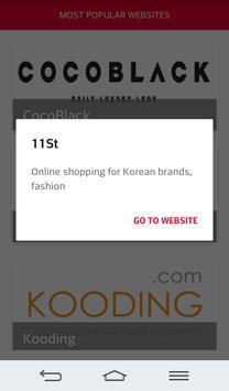 Online Shopping Korea screenshot 2