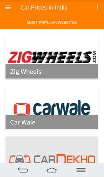 Cars Prices in India poster