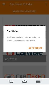 Cars Prices in India screenshot 3