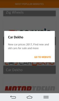 Cars Prices in India screenshot 4