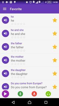 Tiếng Anh Mỹ giao tiếp - Awabe apk screenshot