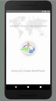 A Walk 4 Peace poster